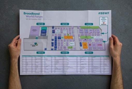Broadband World Forum Map